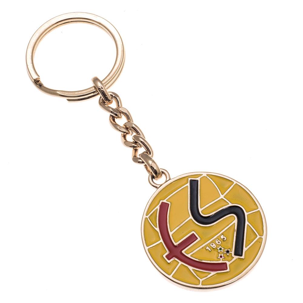 Altın kaplama mineli anahtarlık üretimi AL1809, İstanbul zamak döküm logo baskılı anahtarlık imalatı ürün resmi