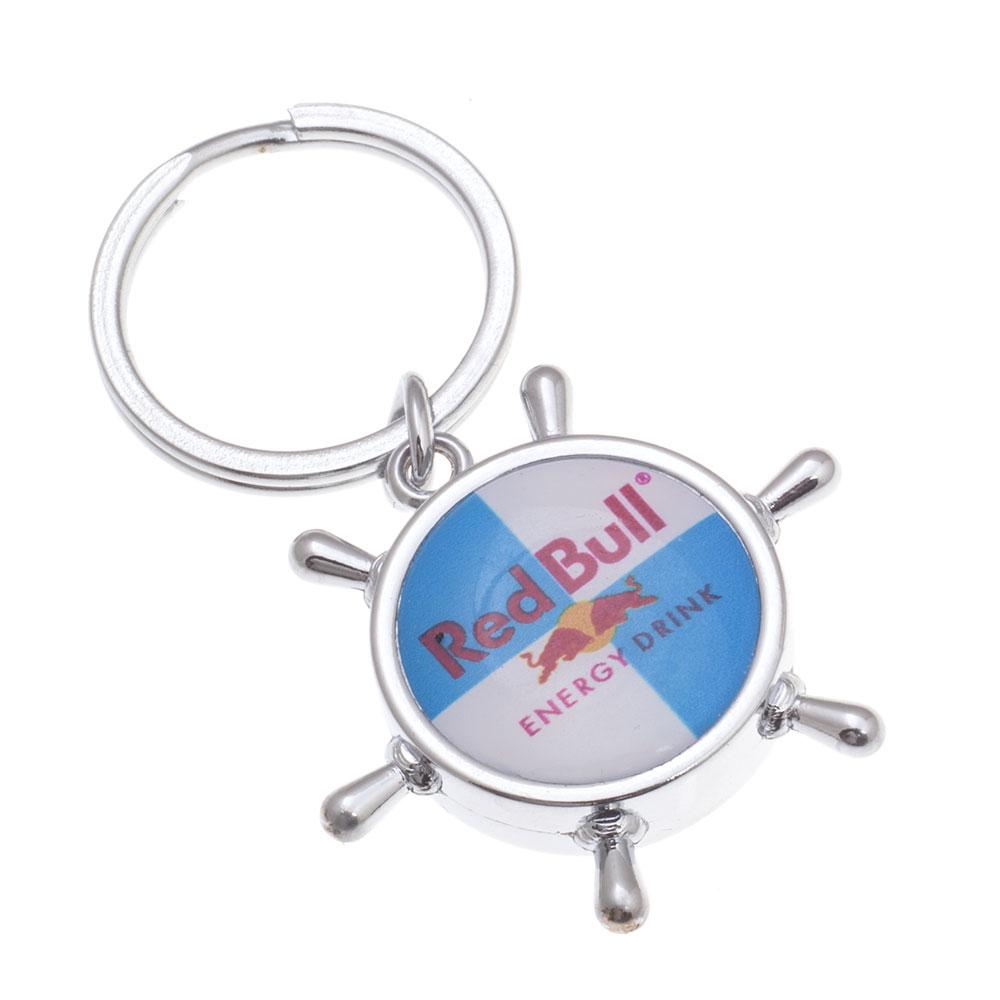 Damla anahtarlık üretimi DM1841, İstanbul logo baskılı toptan metal anahtarlık imalatı ürün resmi