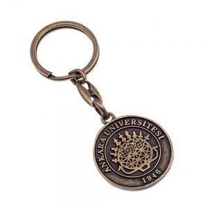 Eskitme anahtarlık üretimi ES1824, İstanbul zamak döküm logo baskılı antik anahtarlık imalatı ürün resmi