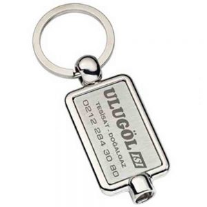 Purjör anahtarlık üretimi PR1816, İstanbul logo baskılı toptan metal anahtarlık imalatı ürün resmi