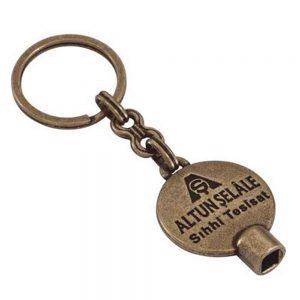 Purjör anahtarlık üretimi PR1814, İstanbul logo baskılı toptan metal anahtarlık imalatı ürün resmi