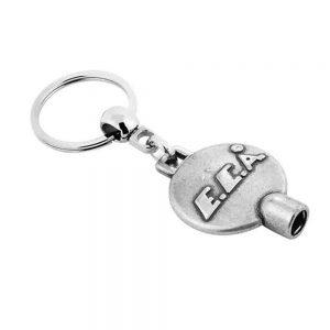 Purjör anahtarlık üretimi PR1822, İstanbul logo baskılı toptan metal anahtarlık imalatı ürün resmi