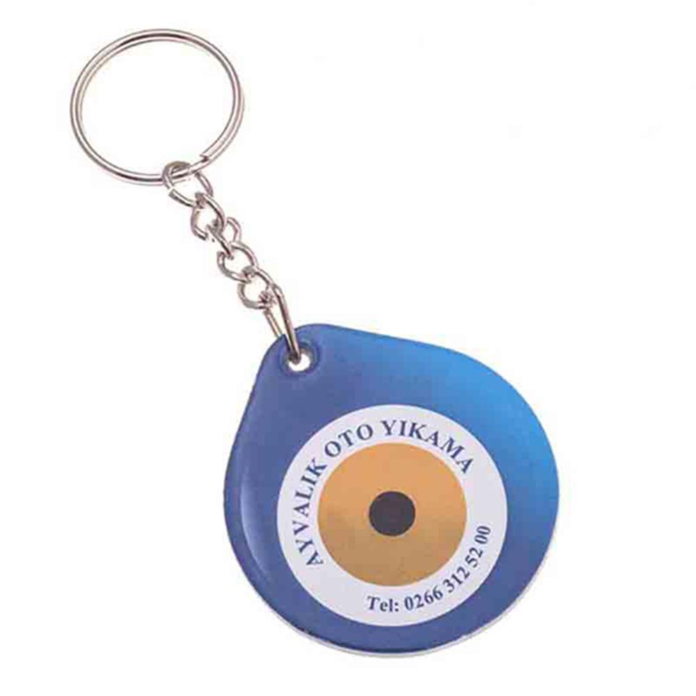Puf anahtarlık üretimi PF1801, İstanbul logo baskılı toptan şişme anahtarlık imalatı ürün resmi