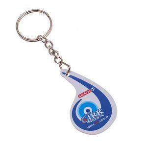 Puf anahtarlık üretimi PF1804, İstanbul logo baskılı toptan şişme anahtarlık imalatı ürün resmi
