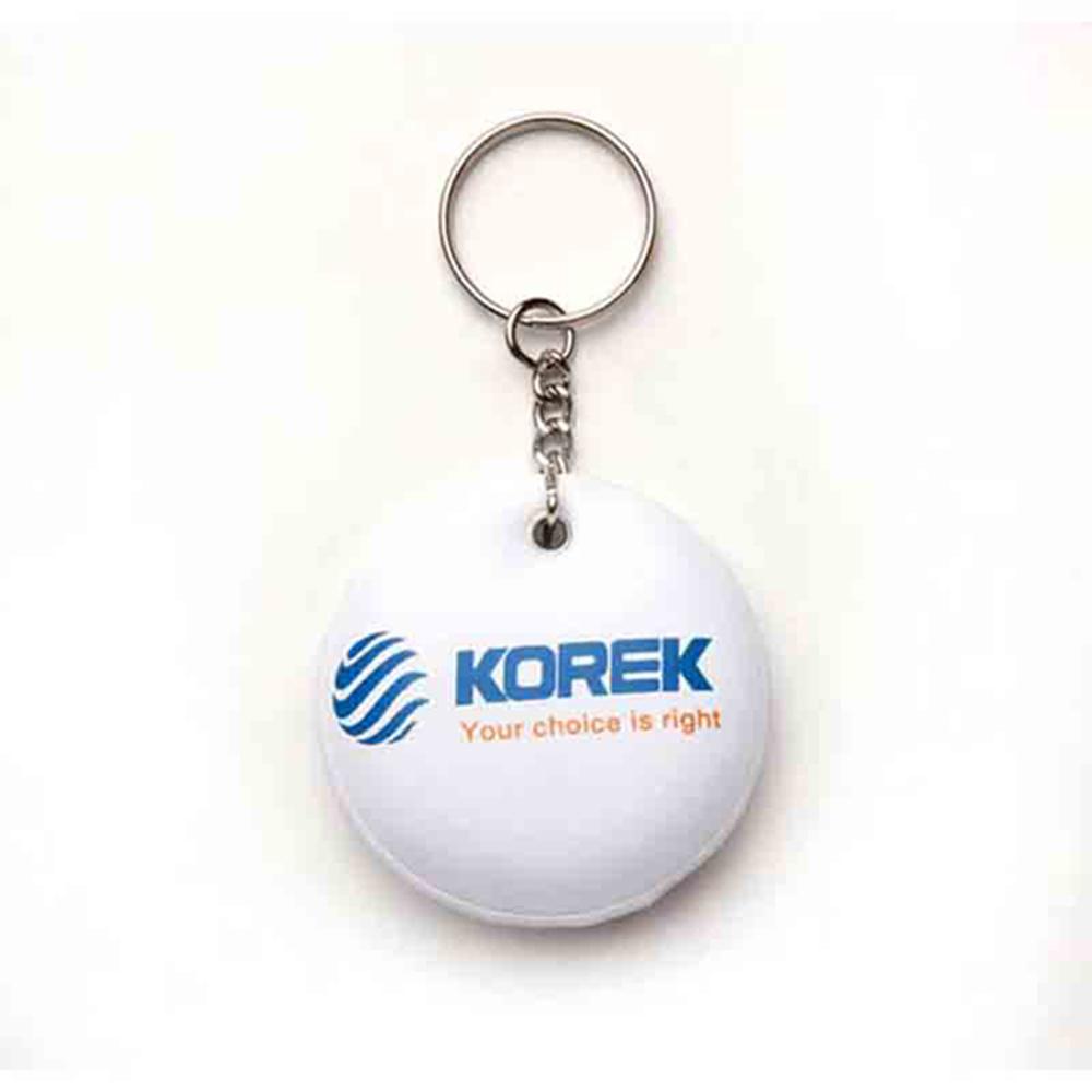 Puf anahtarlık üretimi PF1819, İstanbul logo baskılı toptan şişme anahtarlık imalatı ürün resmi