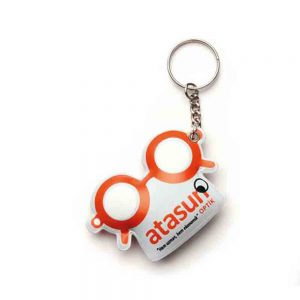Puf anahtarlık üretimi PF1824, İstanbul logo baskılı toptan şişme anahtarlık imalatı ürün resmi
